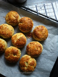 Gorgeous savoury scones.
